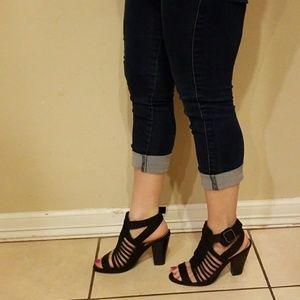 Shoes - BLACK SUEDE